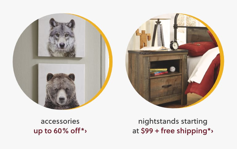 Accessories, Nightstands
