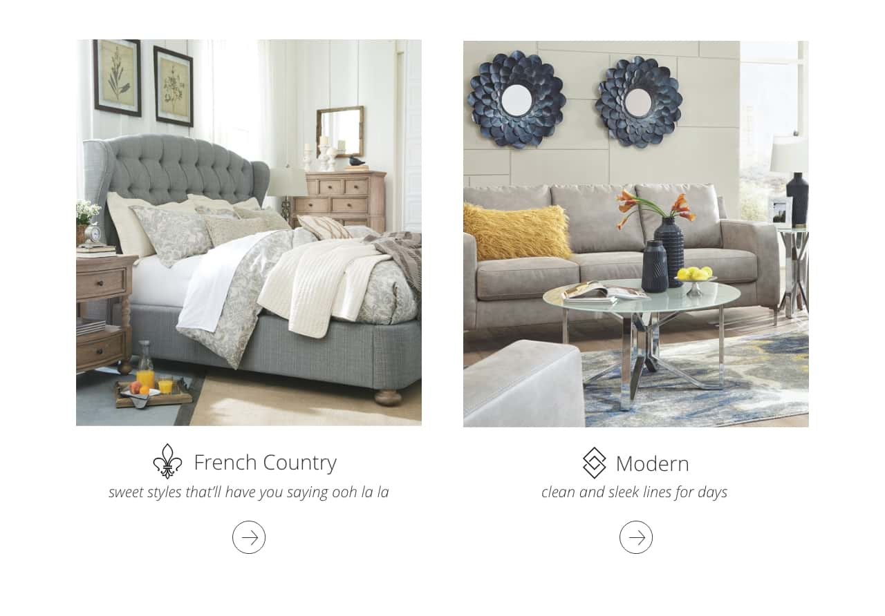 French Country Bedroom furniture, Modern clean and sleek furniture
