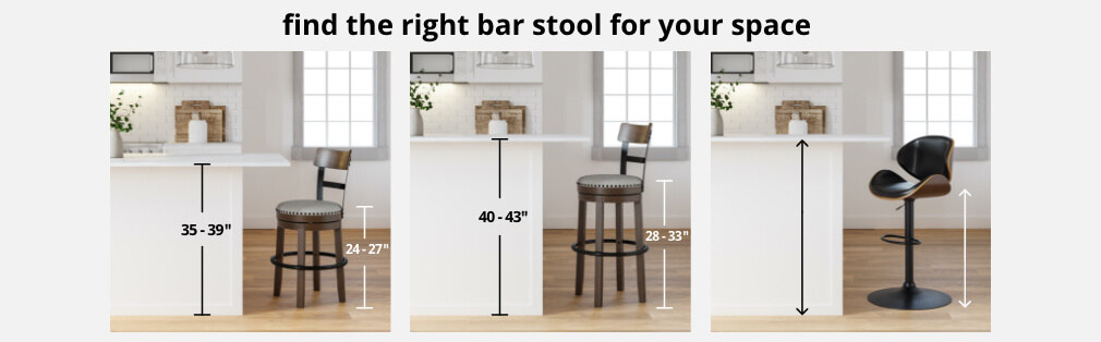 Find stylish and affordable Bar Stools at Ashley Furniture HomeStore. Styles range from Modern to Traditional to meet any home design.