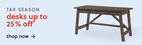 Up to 25% Off Desks