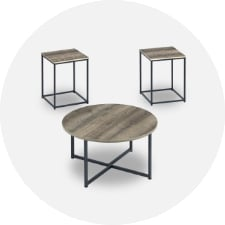 Coffee + End Table Sets