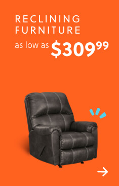 Reclining and Power Reclining Seating as low as $309.99 + Free Delivery (SS Version Only)