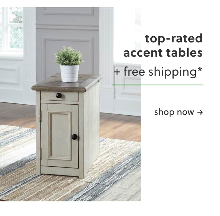 Top Rated Accent Tables with Free Shipping*