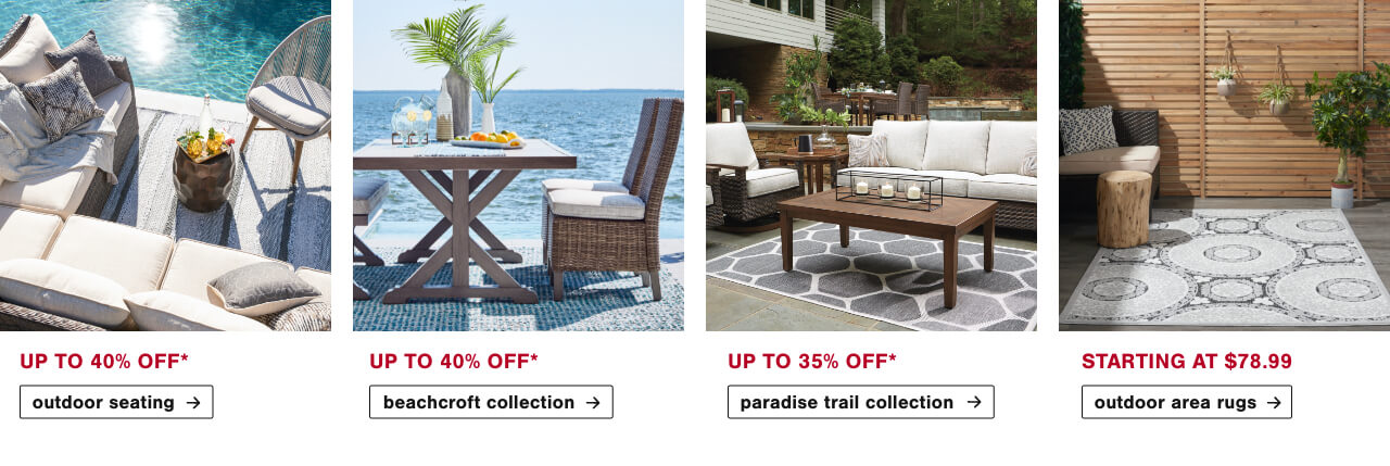 Outdoor Seating, Outdoor Tables, Umbrellas and Stands, Outdoor Area Rugs