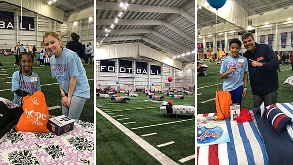 Ashley HomeStore and Ole Miss Athletics Host Hope to Dream Event