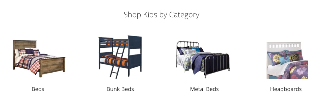 Kids Beds, Kids Bunk Beds, Kids Metal Beds, Kids Headboards