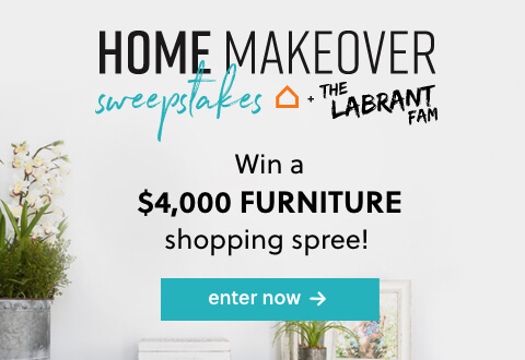 The Labrant Family Home Makeover Sweepstakes