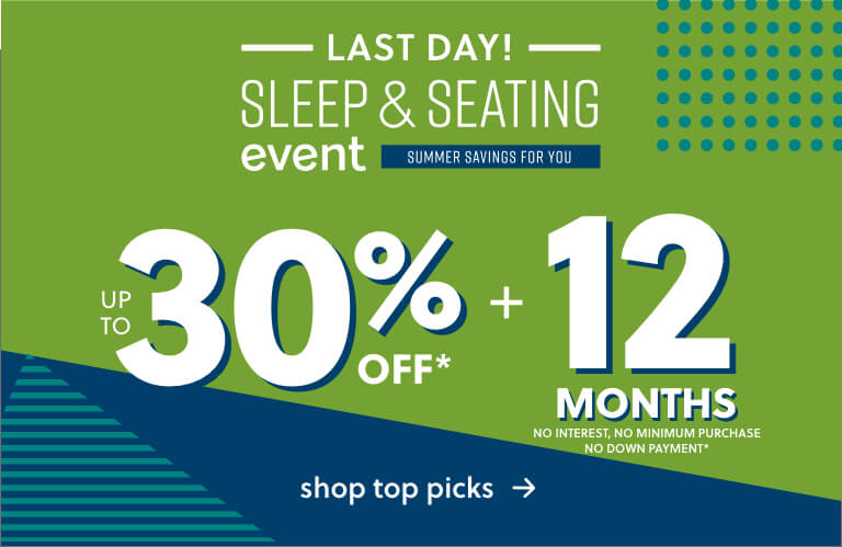 Summer Sleep and Seating Event
