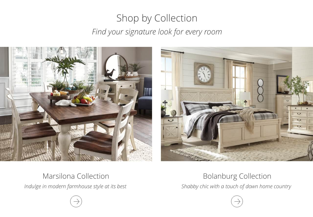 Collections by Ashley HomeStore | Ashley Furniture HomeStore