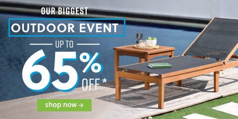 OUR BIGGEST OUTDOOR EVENT Up to 60% off