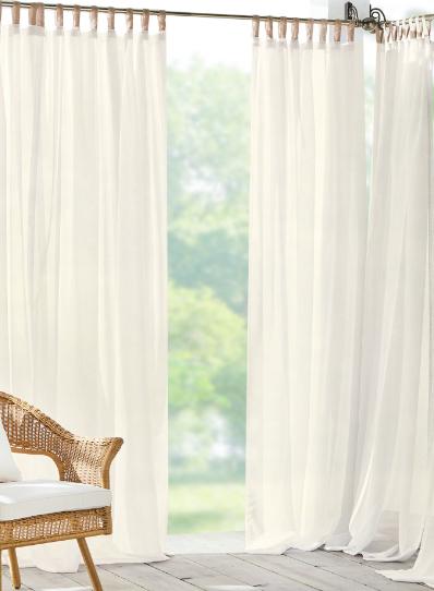 indoor + outdoor window treatments