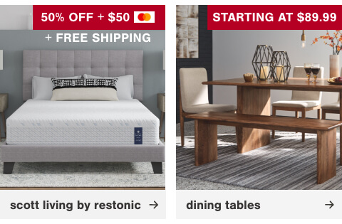 Dining Tables Starting at $89.99, Scott Living by Restonic