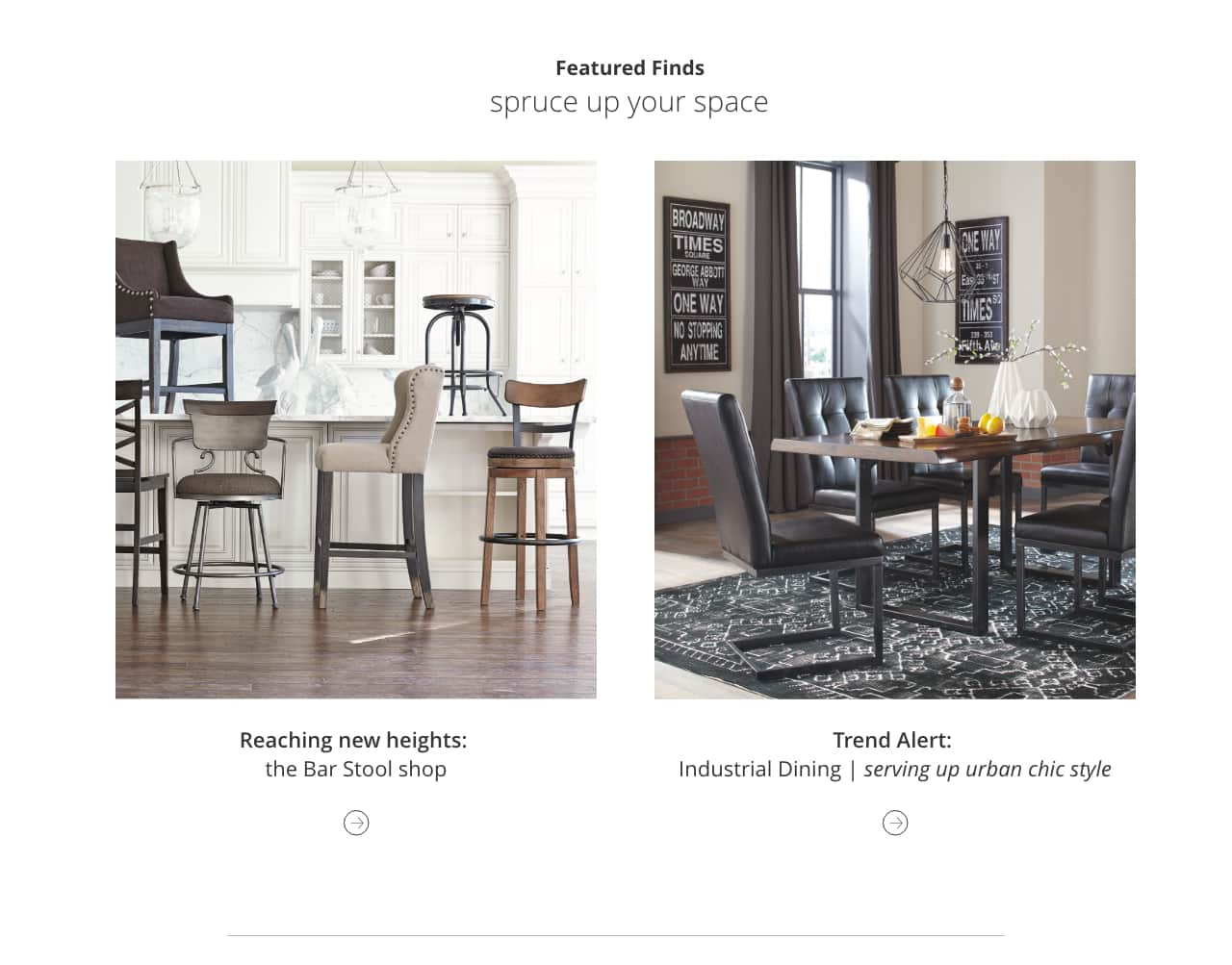 Kitchen dining room furniture ashley furniture homestore bar stool shop industrial dining watchthetrailerfo