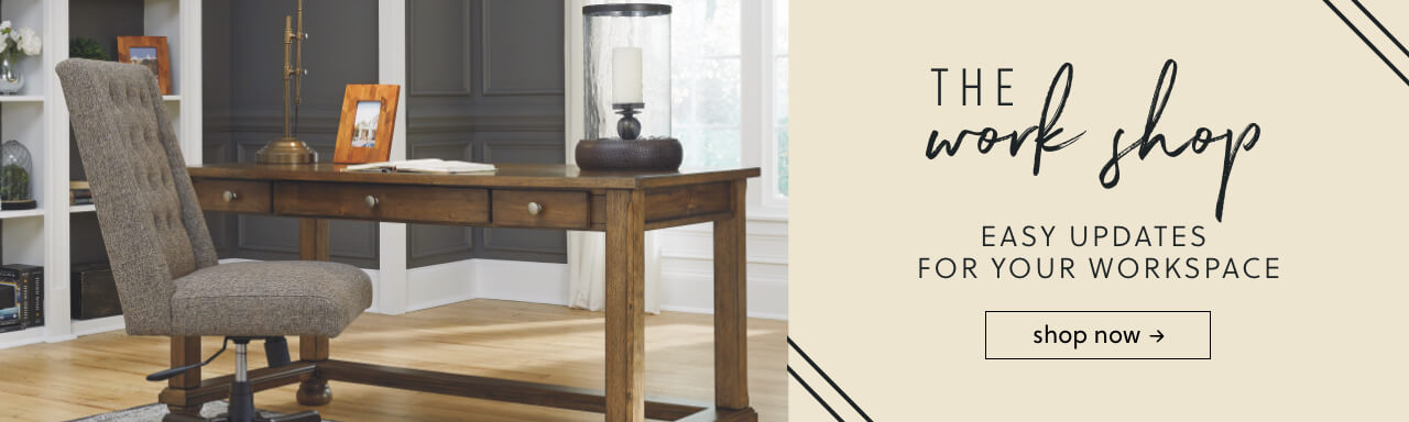 Office table for home Shaped Home Office Chairs Ashley Furniture Homestore Home Office Furniture Ashley Furniture Homestore
