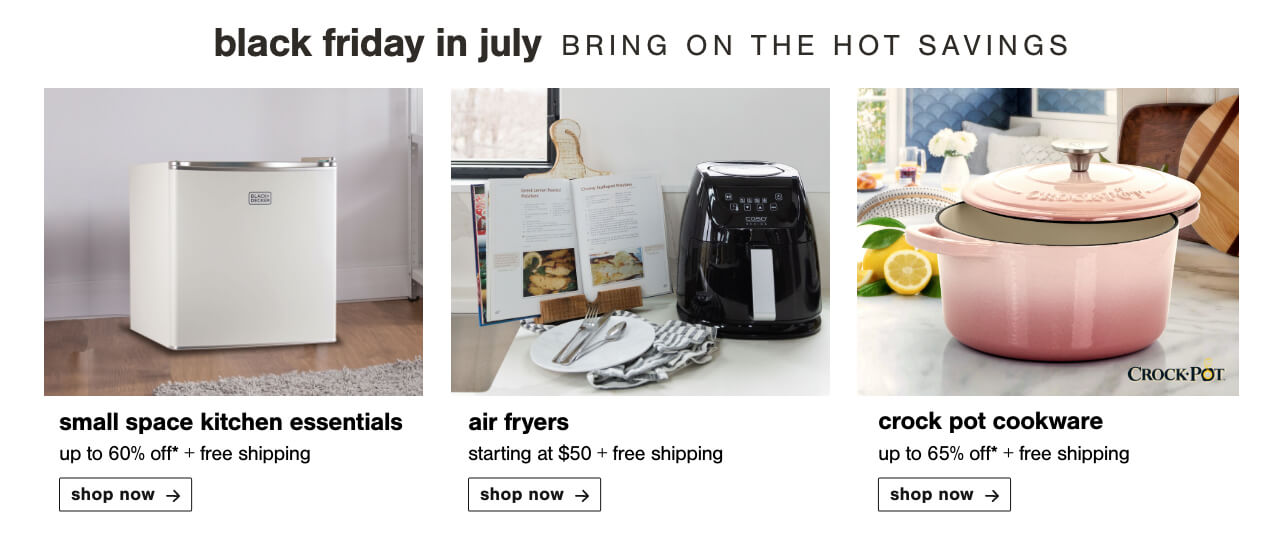 Outdoor Tableware, Mini Fridges and Ice Makers, Bakeware