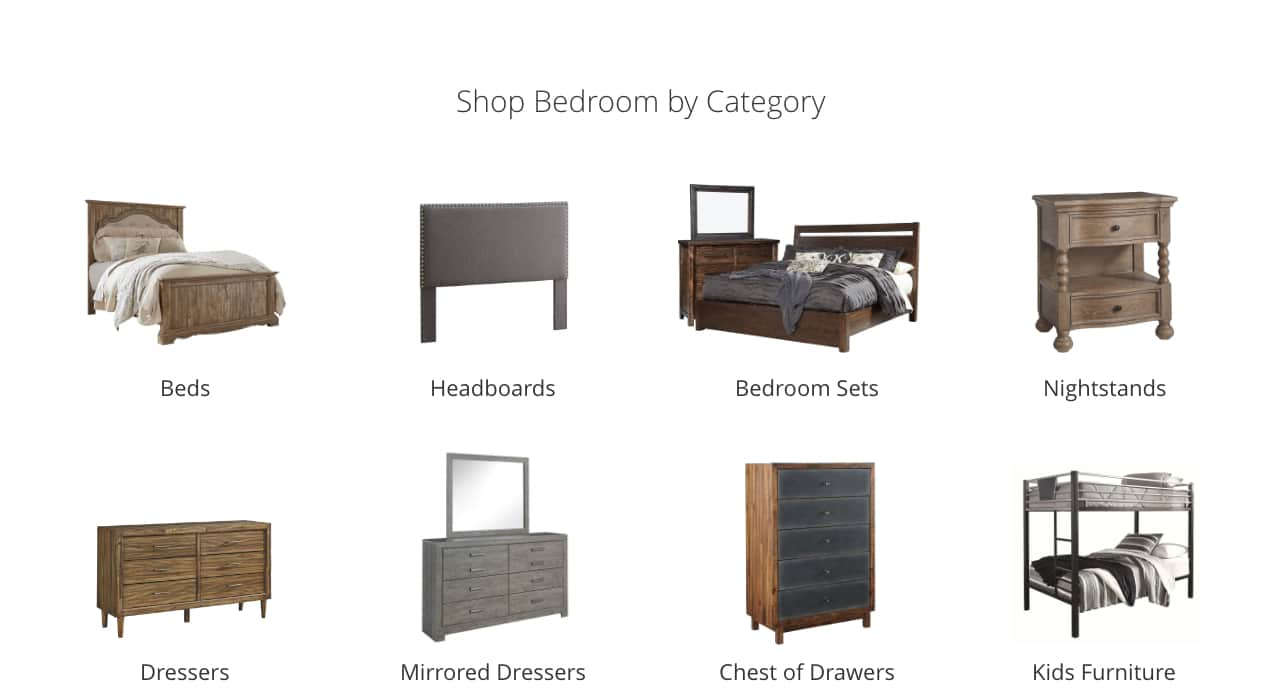 Bedroom Beds, Headboards, Bedroom Sets, Nightstands, Dressers, Mirrored Dressers, Chest of Drawers, Storage