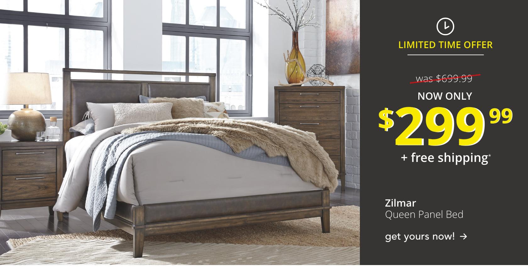 Zilmar Queen Panel Bed