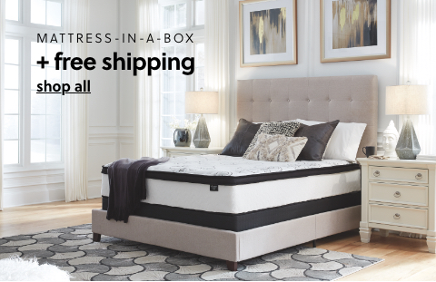 Mattress in a Box s/a $109 + Free Shipping