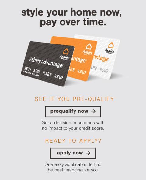 Ashley HomeStore Online Financing