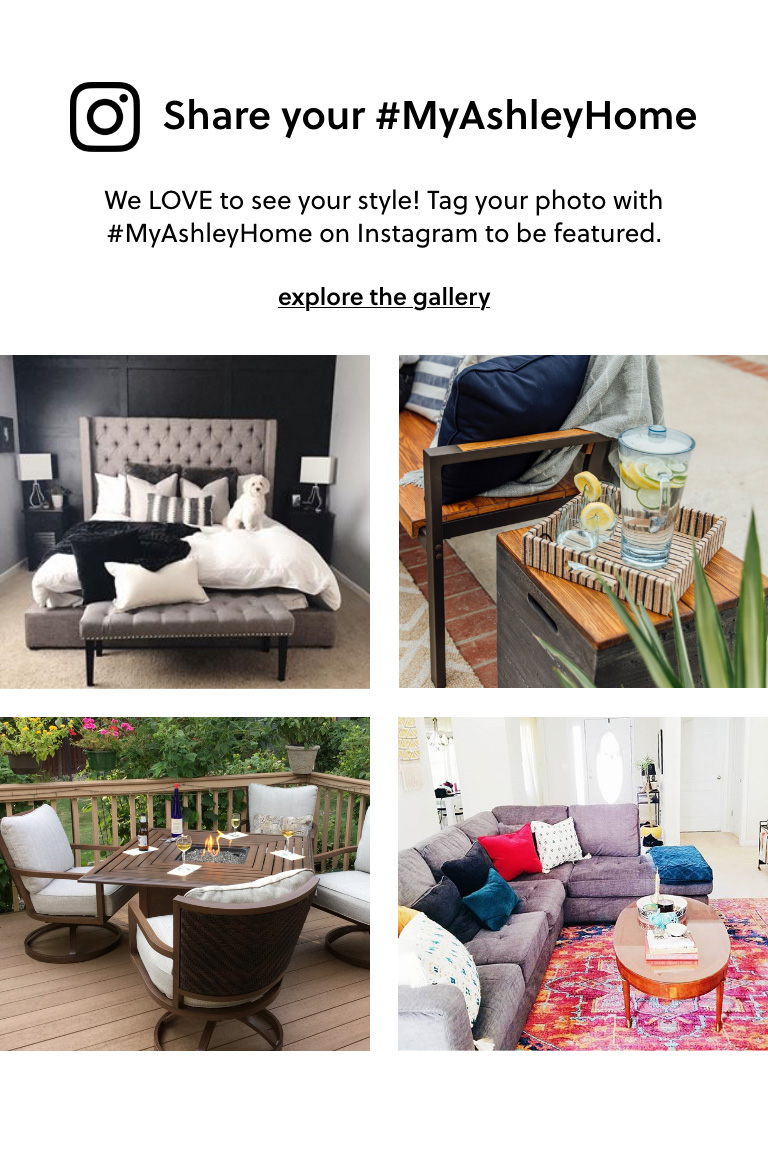 Share your #MyAshleyHome on Instagram