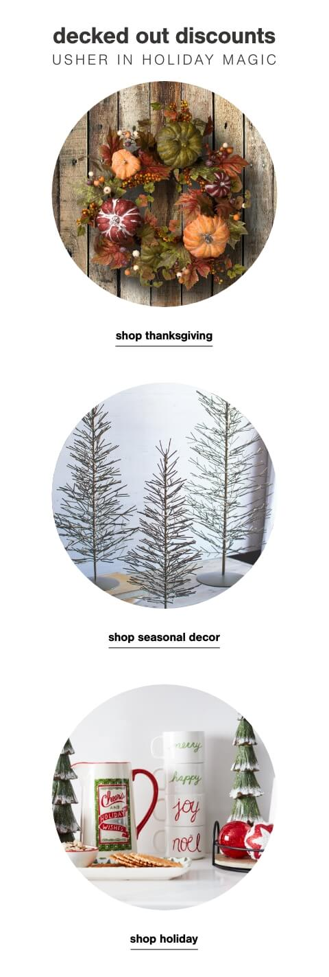 Shop Thanksgiving,Transitional/Tis all the seasons decor,Bathroom Best Sellers up to 50% off + Free Shipping