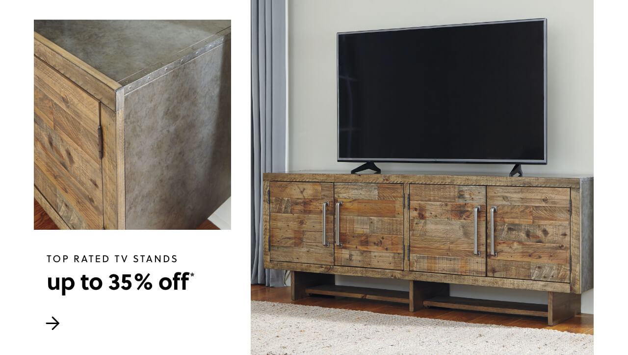 Top Rated TV Stands Up to 25% Off