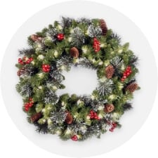 wreaths, garlands + flowers
