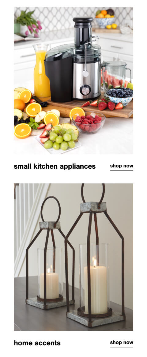 Small Kitchen Appliances, Home Accents