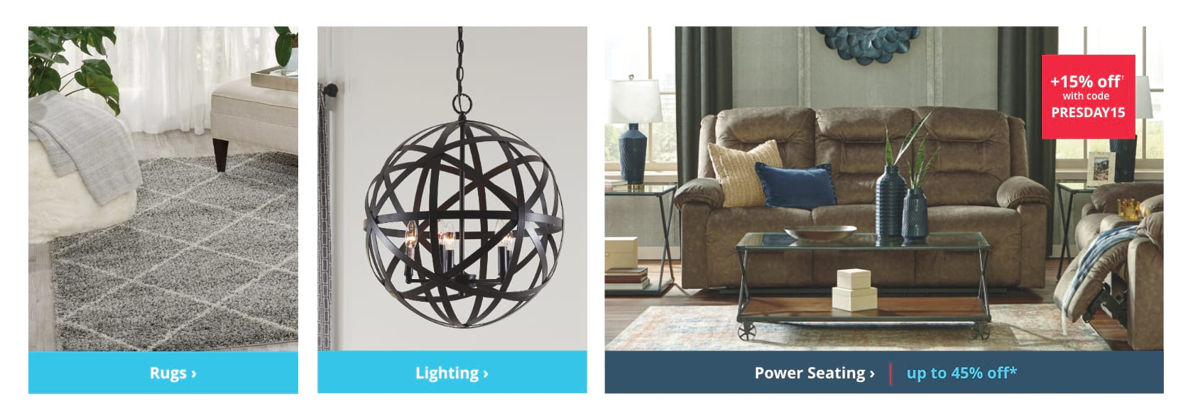Shop Rugs, Lighting, Accent Tables