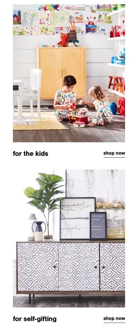 Kids Gifts, Self Gifting
