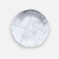 Tarhong Carrara Marble Salad Plate