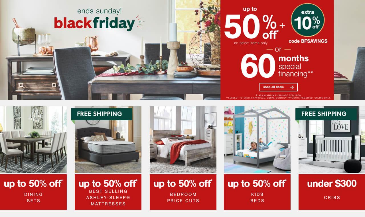 Ashley Furniture HomeStore Black Friday Sale 2020