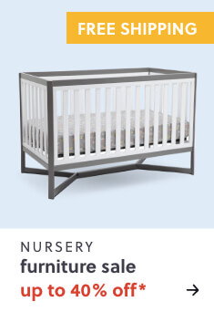 Nursery Furniture Up to 40% Off* + Free Shipping