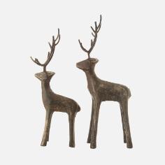 Cast Iron Standing Deer