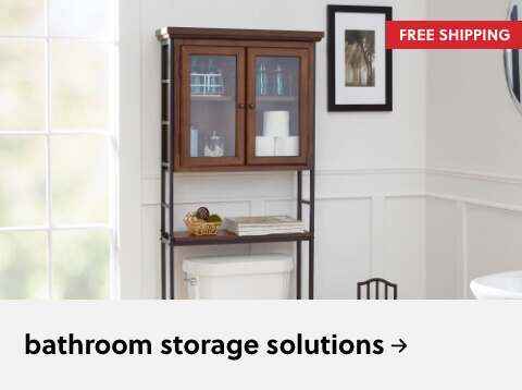 Bathroom Storage Solutions on Free Shipping