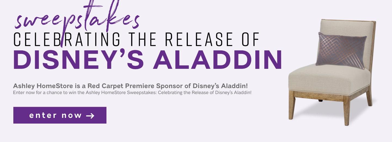 Disney's Aladdin Sweepstakes