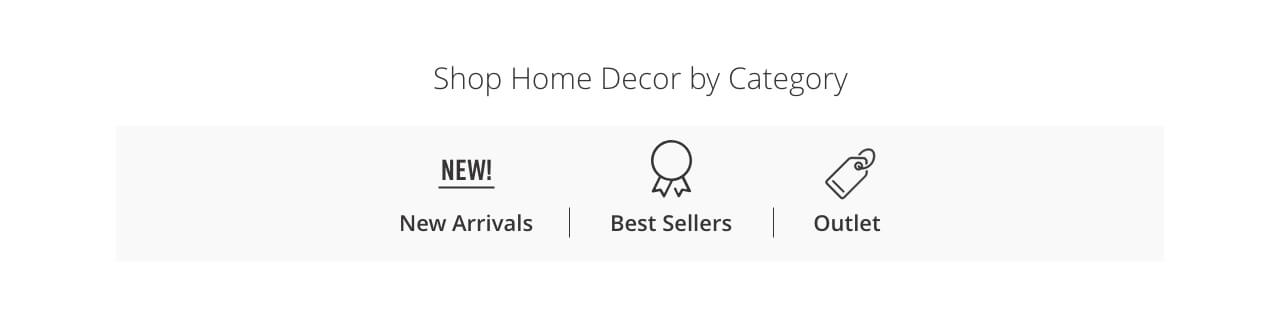 Shop Home Decor by Category