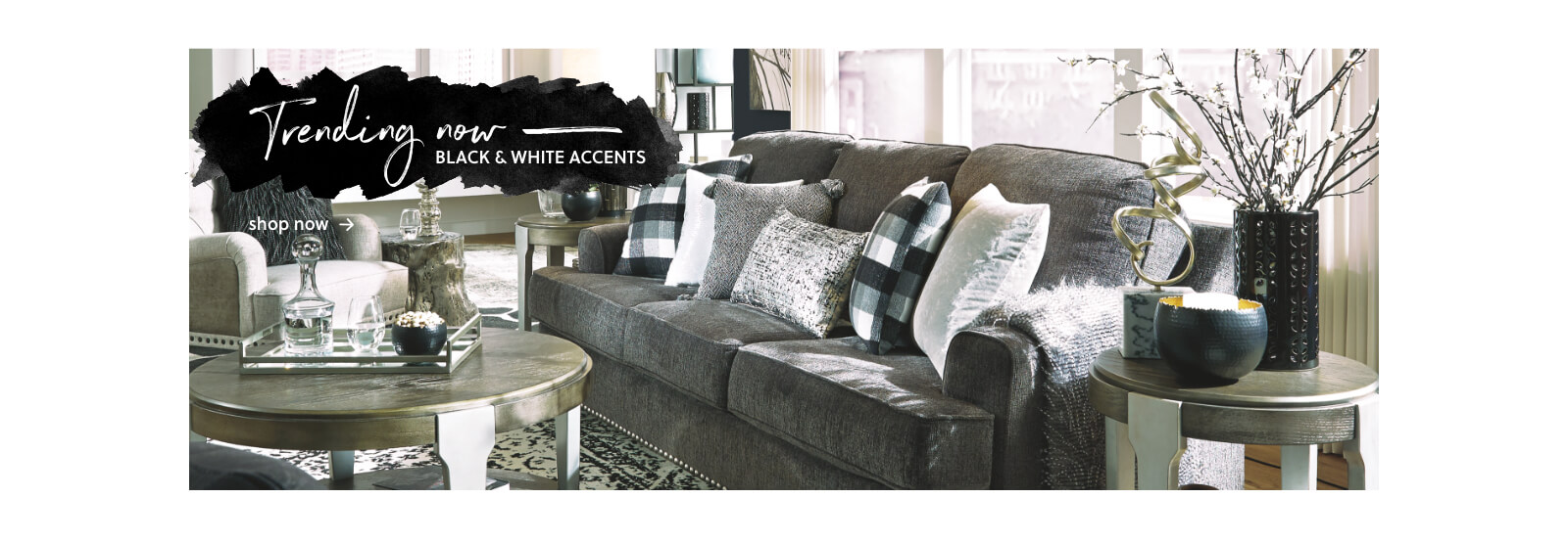 Trending: Black and White Accents