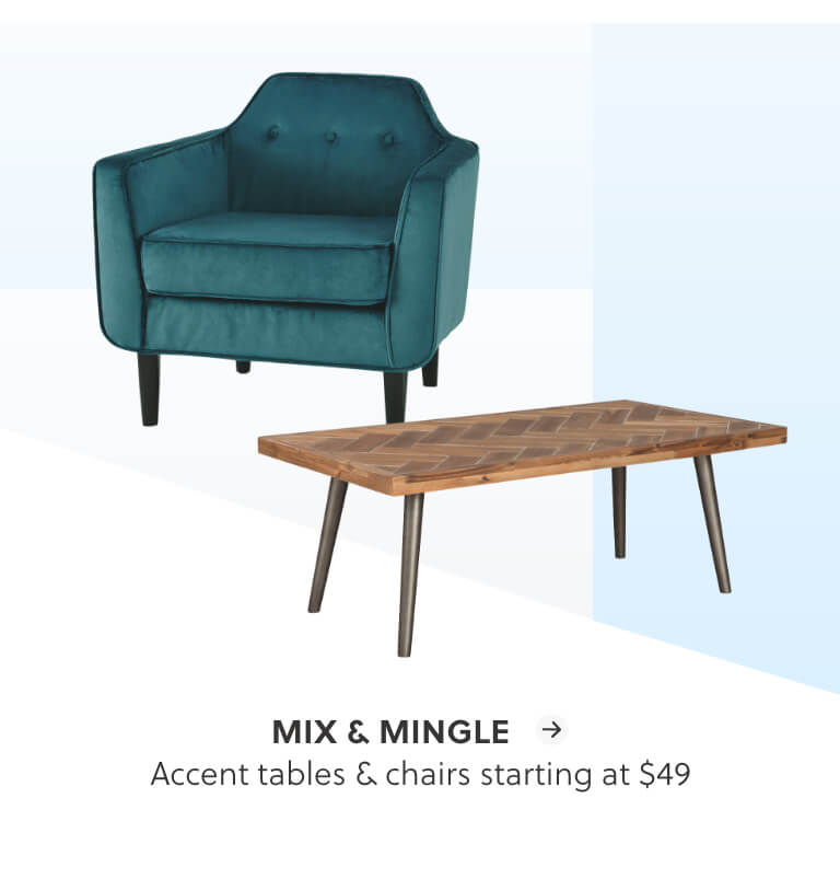 Accent Tables and Chairs
