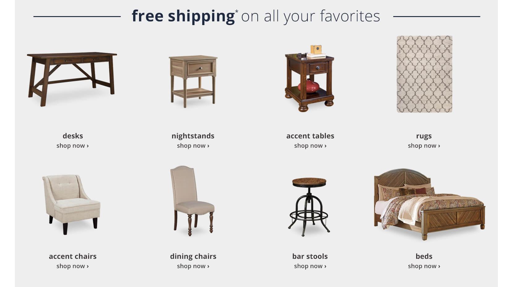 Free Shipping Furniture Favorites