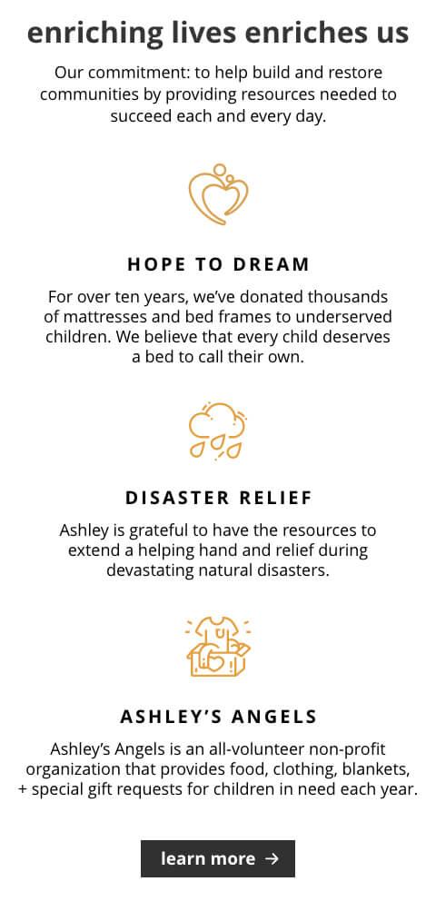 Hope To Dream, Disaster Relief, Ashley's Angel's