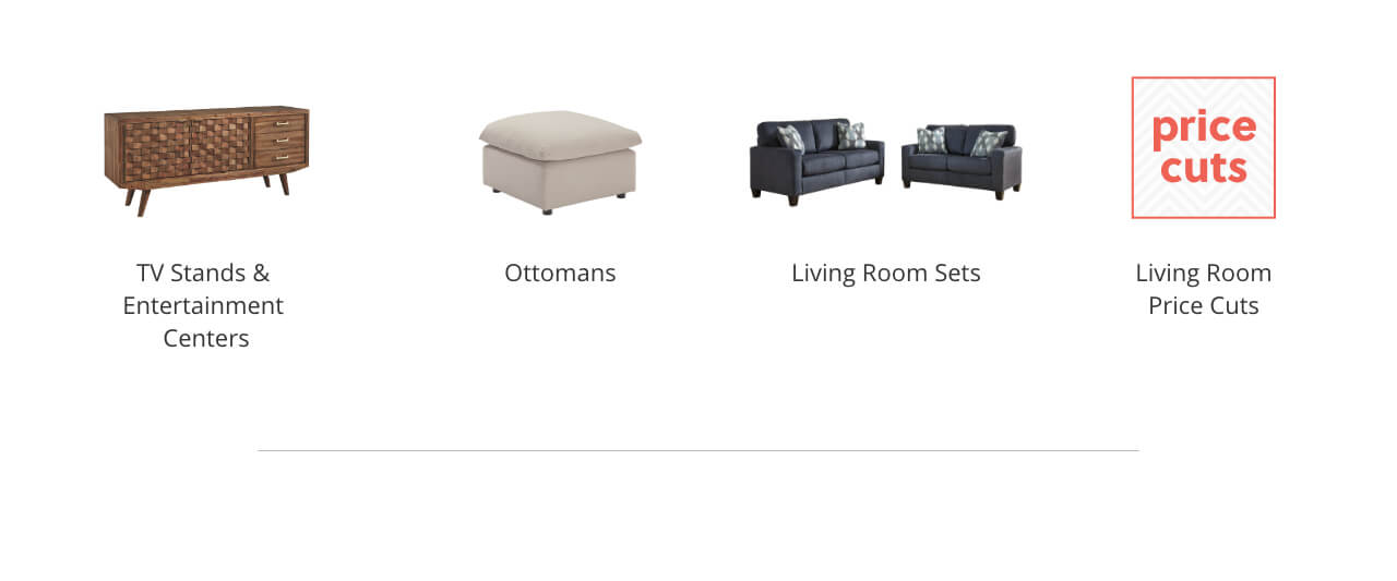 TV Stands and Entertainment Centers, Ottomans, Living Room Sets, Living Room Hot Buys