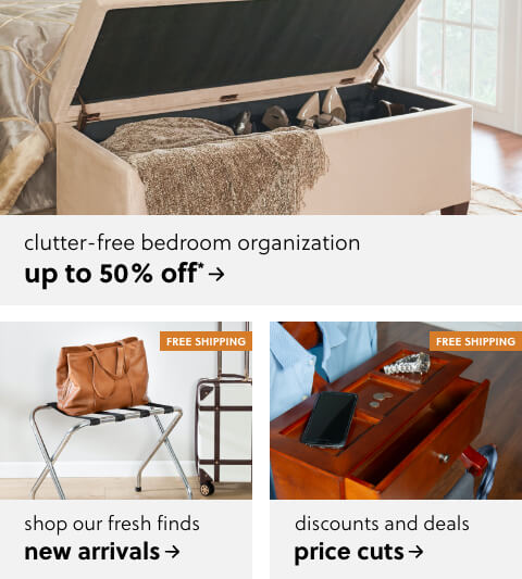 Buyer's Picks to Tidy Up Your Bedroom– Up to 50% Off!