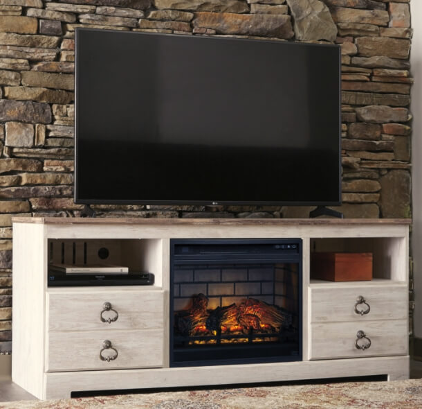TV Stands with Electric Fireplaces