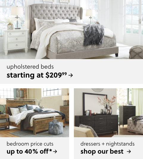 Master Bedroom Price Cuts Up to 40% Off*