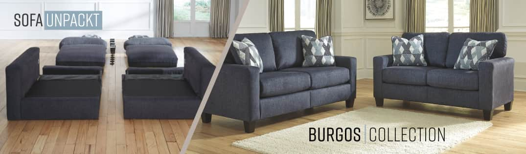 Sofa Unpackt Burgos Collection