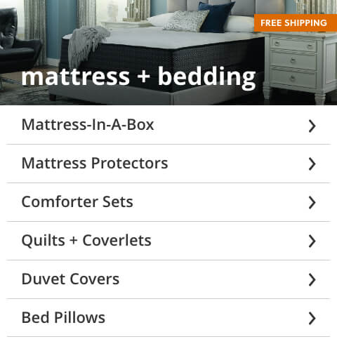 Mattress and Bedding Free Shipping