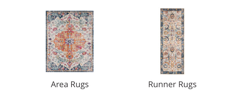 Area Rugs, Runner Rugs