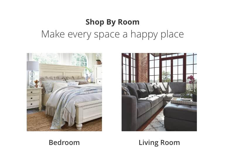Bedroom, Living Room