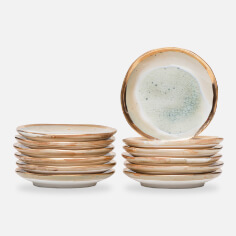 Stoneware Plate Set